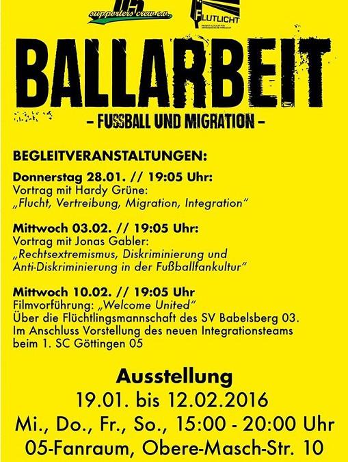 Supporters Crew organisiert Ausstellung in Göttingen