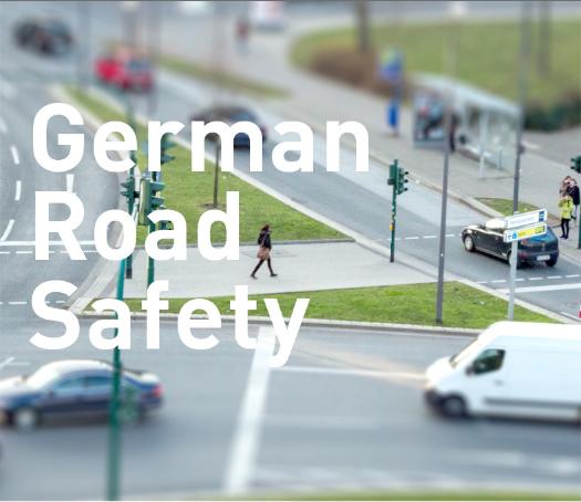 Grundregeln des Straßenverkehrs in mehreren Sprachen – German Road Safety