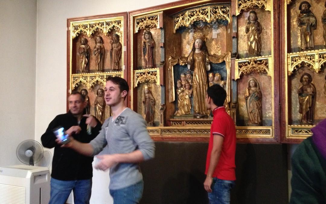 Bewohner der Flüchtlingsunterkunft auf den Zietenterrassen besuchten das Städtische Museum