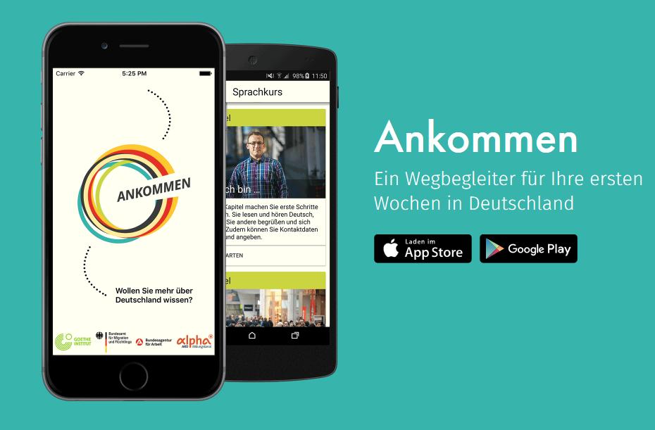 Ankommen App – Ein Wegbegleiter für die ersten Wochen in Deutschland