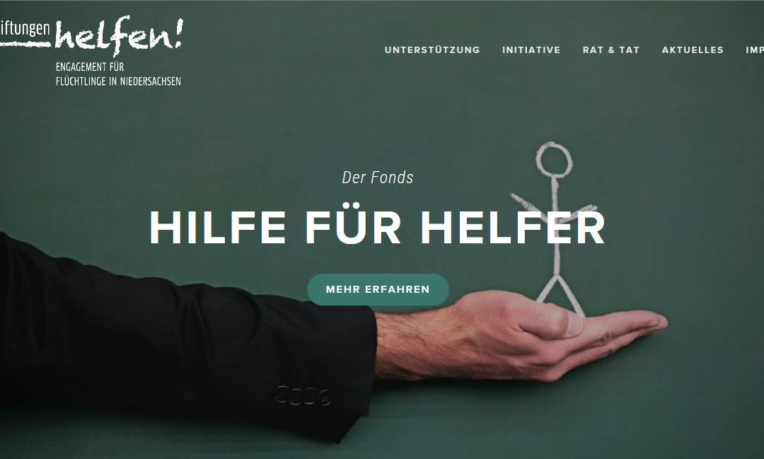 SPREAD THE WORD: Fonds zur Unterstützung ehrenamtlicher Flüchtlingsarbeit in Niedersachsen neu aufgelegt in 2017