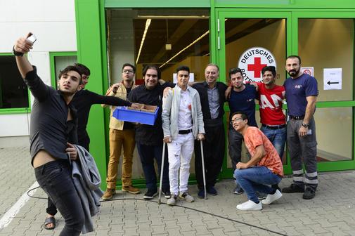 Fest der Begegnung in der Unterkunft Siekhöhe – Flüchtlinge feiern mit Göttingern