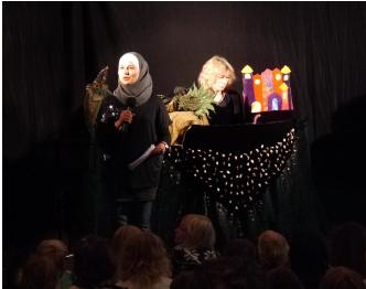 Bilinguales Figurentheater (arabisch/deutsch) für Schulen, Kindergärten, Vereine usw.
