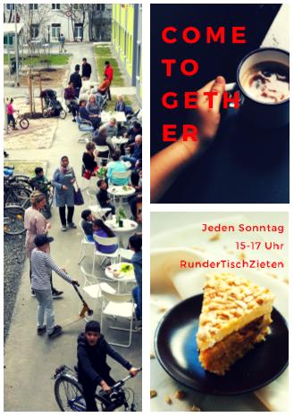 Come Together: Es geht wieder los mit Kaffee und Kuchen!