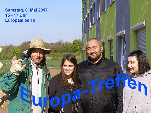 Europa-Treffen am Samstag, 06.05.2017