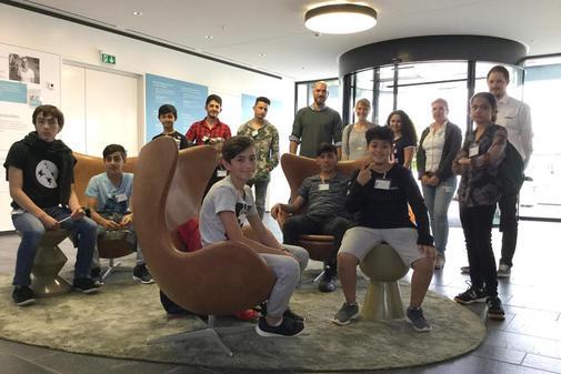 Feriensprachcamp – Berufsperspektiven für junge Flüchtlinge