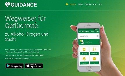 Neue Hilfe-App für suchtmittelgefährdete und konsumierende Geflüchtete in fünf Sprachen