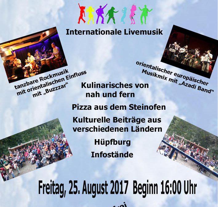 """Sommerfest Haus der Kulturen: """"Viele Kulturen – eine Welt"""""""