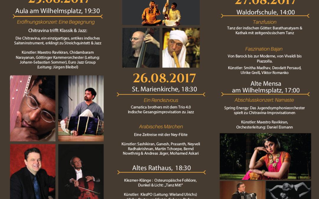 Melharmony Weltmusik- und Tanzfestival Göttingen vom 25.08 -27.08.2017