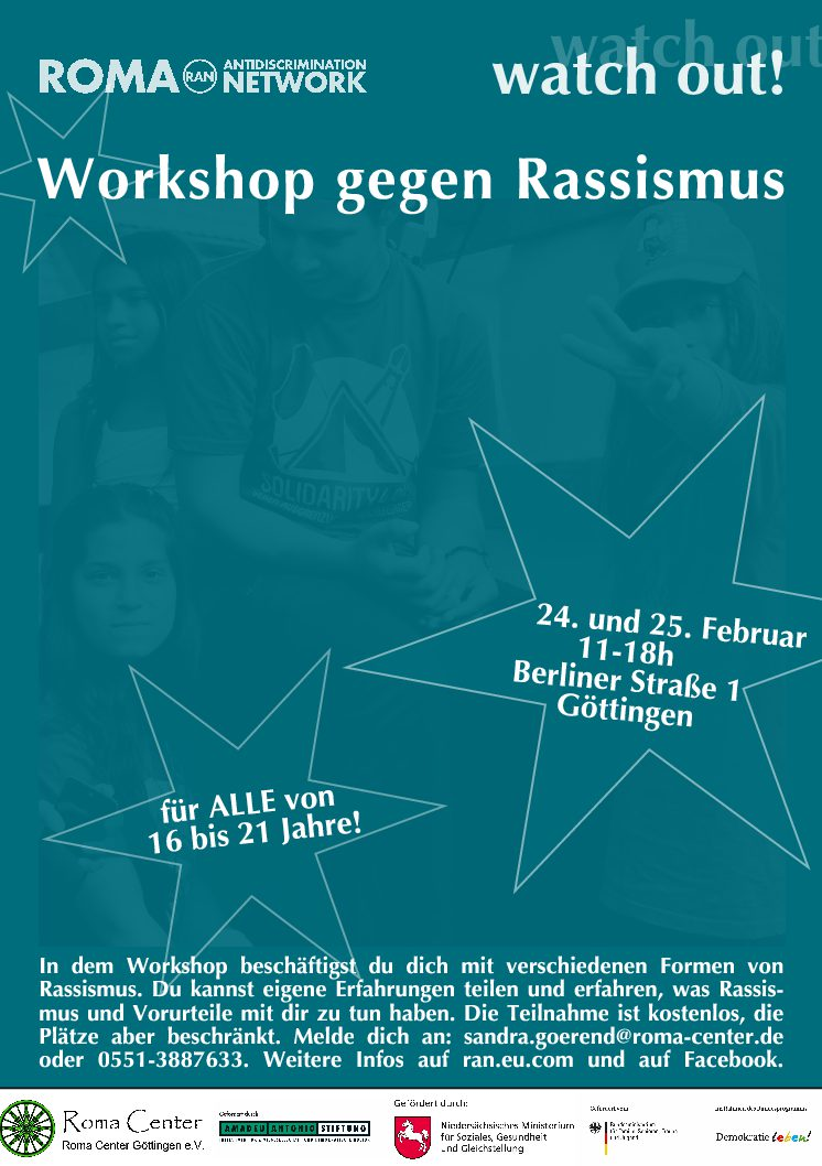 Workshop gegen Rassismus in Göttingen