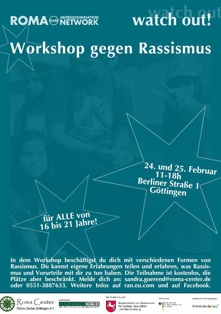 Workshop gegen Rassismus in Göttingen