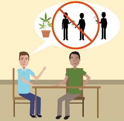 Weitere Erklärvideos für Geflüchtete – zu den Themen Gefahren durch Cannabiskonsum und Medikamentenmissbrauch