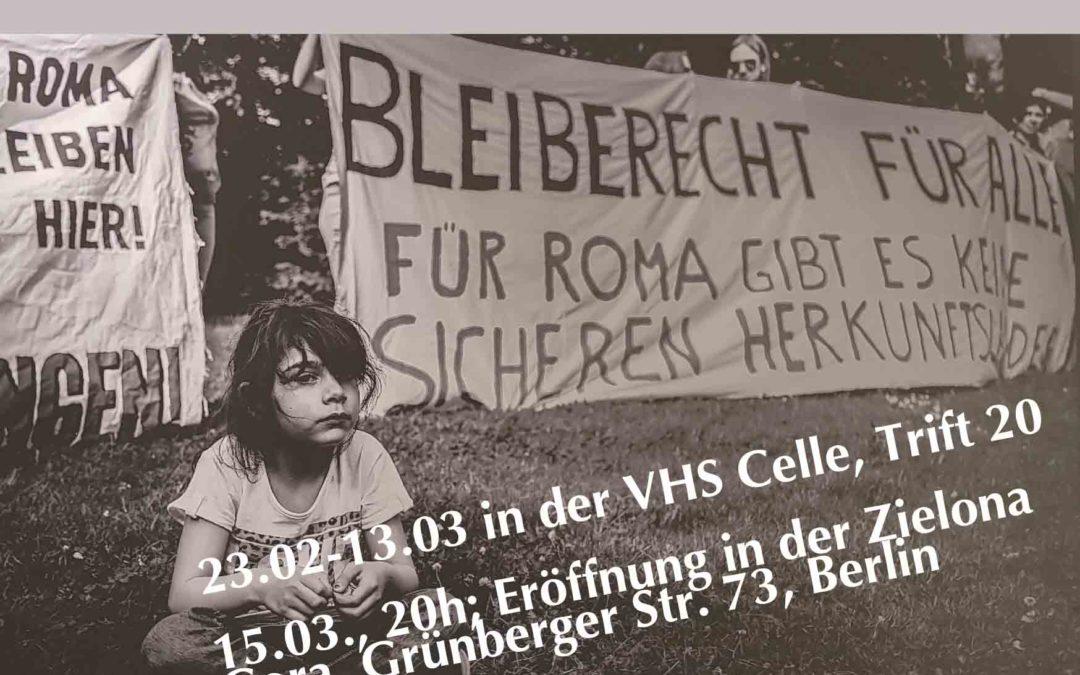 Info: Ausstellung des Roma Centers Göttingen