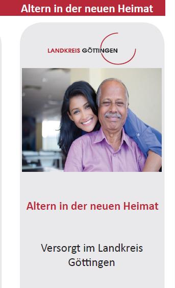 Altern in der neuen Heimat – Gut versorgt im Landkreis Göttingen