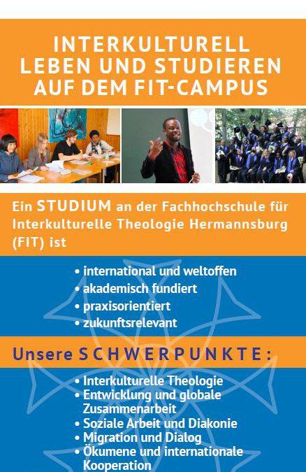 Studienangebot der Fachhochschule für Interkulturelle Theologie Hermannsburg