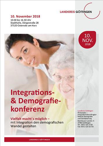 Integrations- und Demokratiekonferenz des Landkreises Göttingen