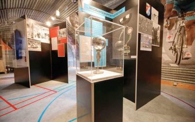 Sonderausstellung im Museum Friedland zum Thema Sport und Integration in Niedersachsen und Deutschland
