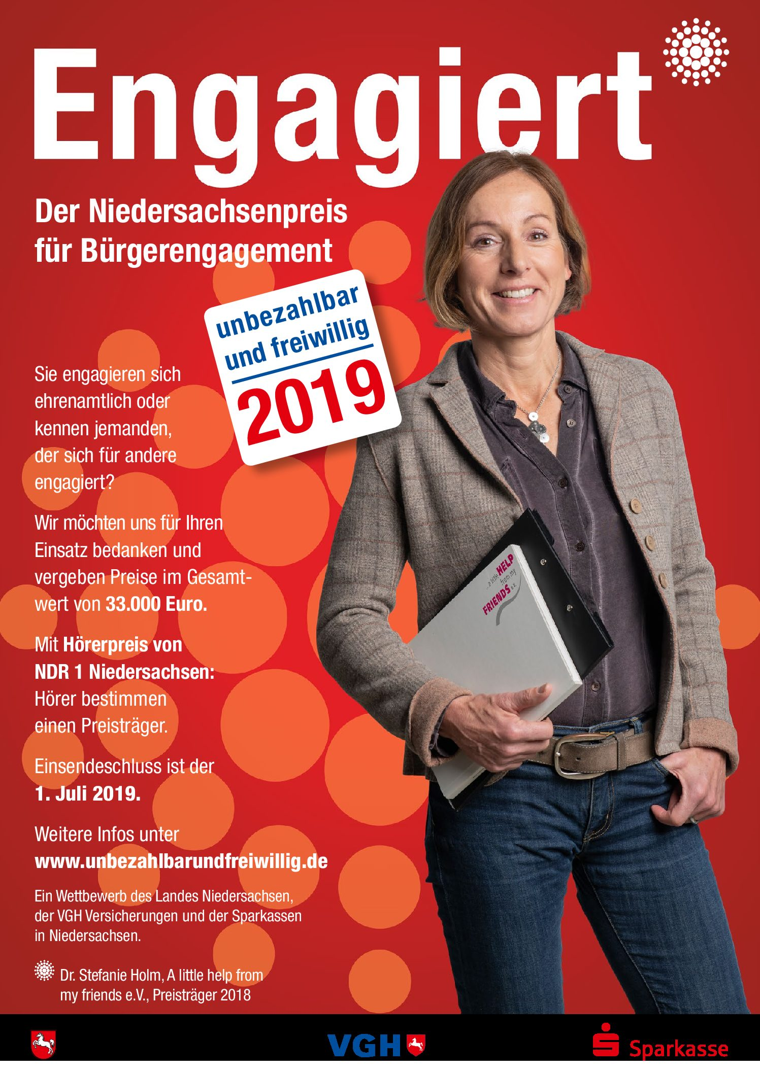 Der Niedersachsenpreis für Bürgerengagement