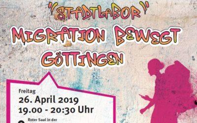 Vortrag des Stadtlabors Migration