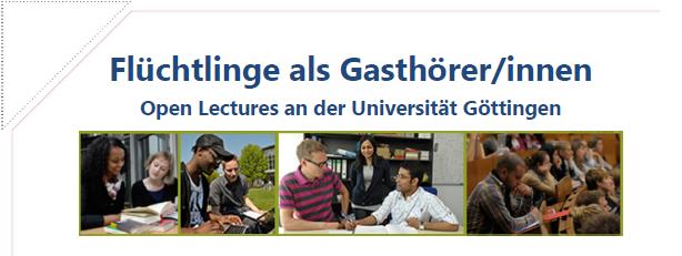 Gasthörerprogramm Wintersemester 19/20 Uni Göttingen