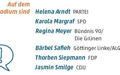 Podiumsdiskussion: Wie sind Frauen mit Zuwanderungsgeschichte in den Parteien vertreten?